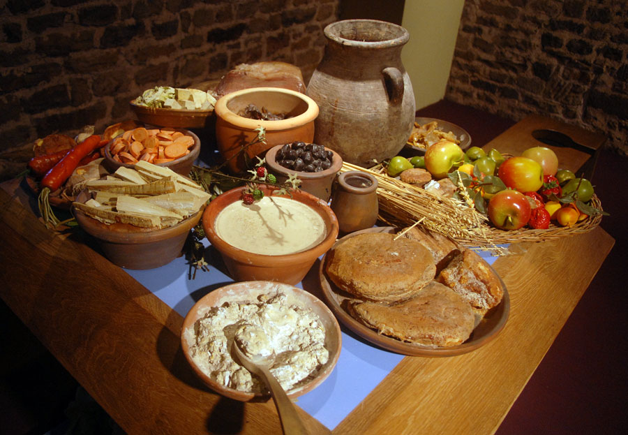 Ancient roman food for the rich for Cibo romano