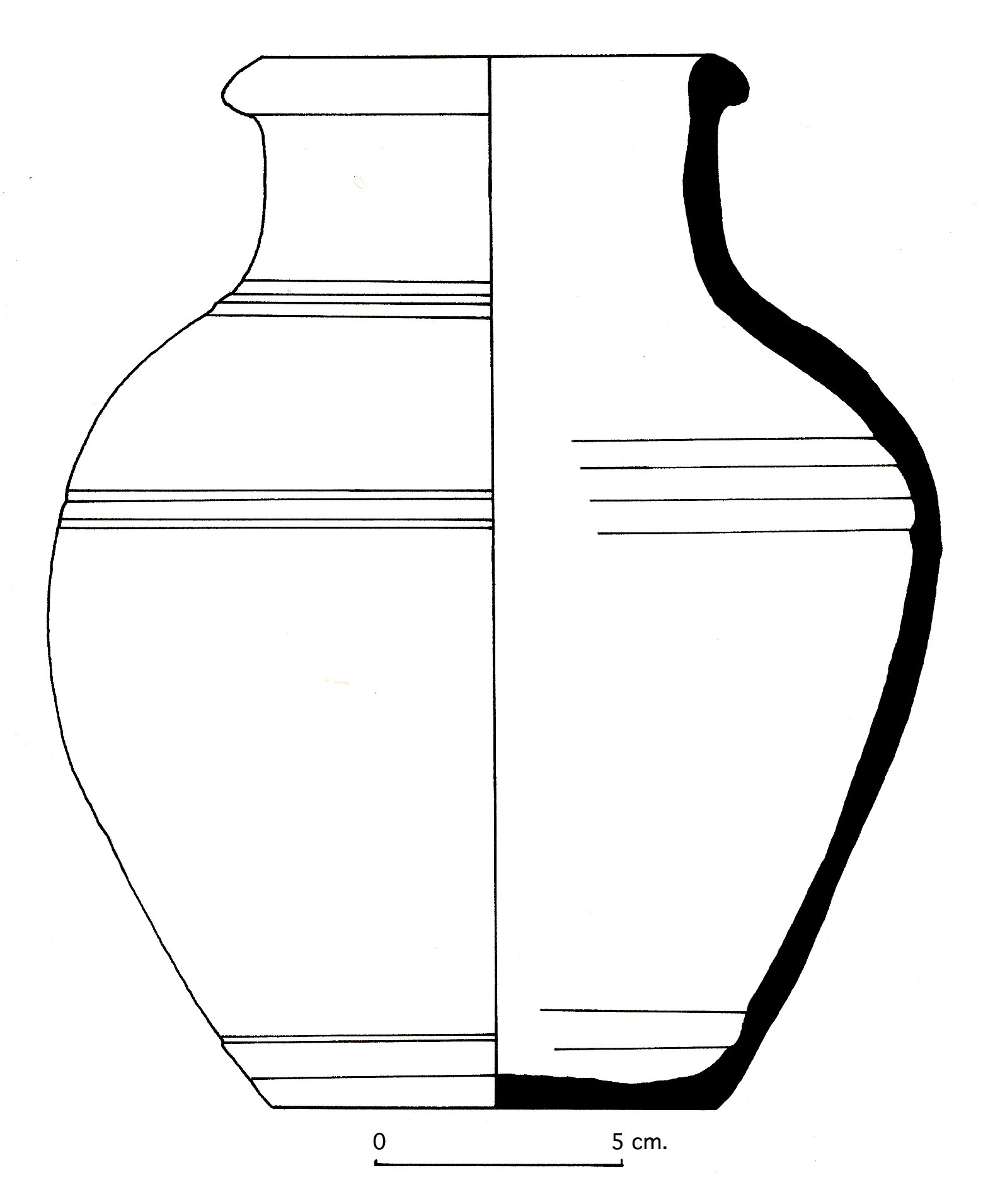 Jars Drawing Drawing of a Intact Light